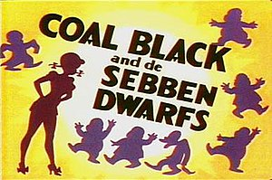 Coal Black and de Sebben Dwarfs - Coal Black title card