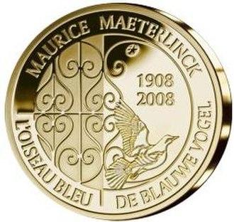 Maurice Maeterlinck - Maurice Maeterlinck commemorative coin