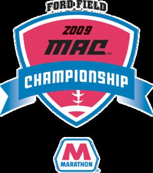 2009 MAC Championship Game - 2009 Marathon MAC Championship Game Logo