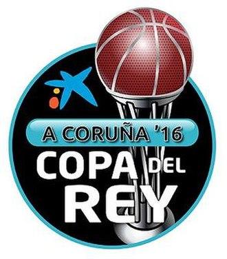 2016 Copa del Rey de Baloncesto - Image: 2016 Copa del Rey de Baloncesto