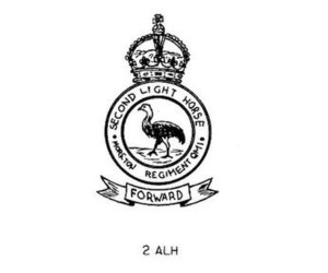 2nd Light Horse Regiment (Australia) - 2nd Light Horse hat badge