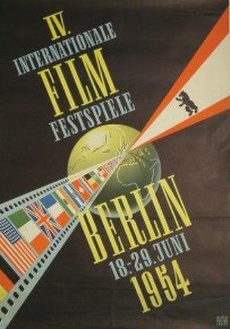 4th Berlin International Film Festival - Festival poster