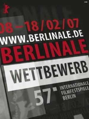 57th Berlin International Film Festival - Festival poster