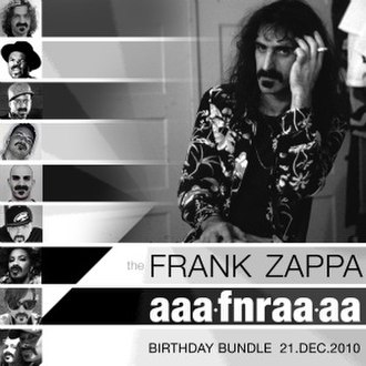 The Frank Zappa AAAFNRAAAA Birthday Bundle 2010 - Image: AAAFNRAAA Acover