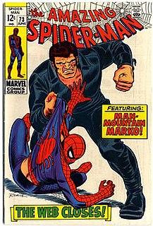 Man Mountain Marko Marvel Comics supervillain