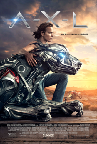 A.X.L. - Theatrical release poster