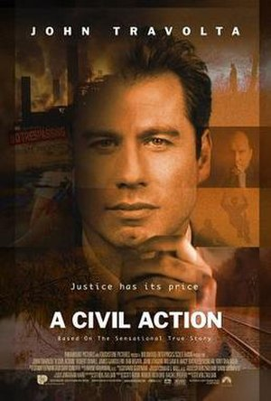 A Civil Action (film) - Image: A Civil Action poster
