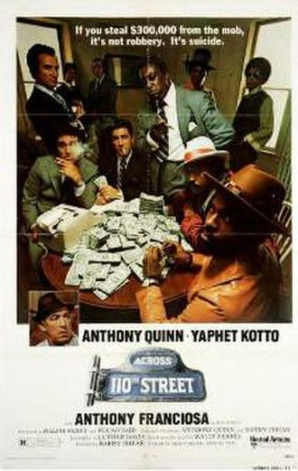 Across 110th Street - Theatrical poster