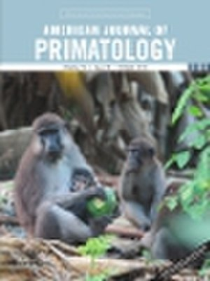 American Journal of Primatology - Image: Am J Primatol Cover