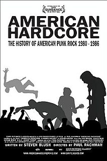 <i>American Hardcore</i> (film) 2006 film by Paul Rachman