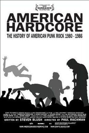 American Hardcore (film) - The movie poster for American Hardcore.