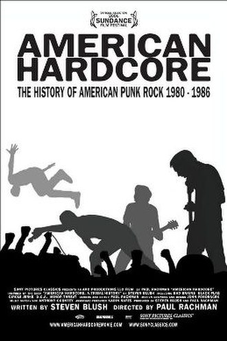 American Hardcore (film) - The movie poster for American Hardcore.