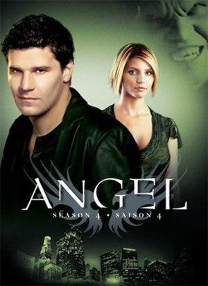 Angel (season 4) - Region 1 Season 4 DVD cover