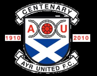 Ayr United F.C. - Image: Ayr United FC 2009 2011 Centenary Logo