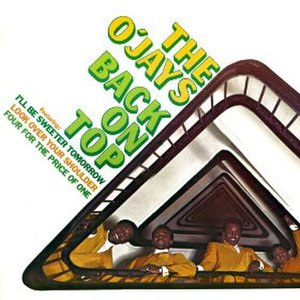Back on Top (O'Jays album) - Image: Back on Top O'Jays 1968