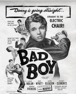 <i>Bad Boy</i> (1949 film) 1950 film by Kurt Neumann