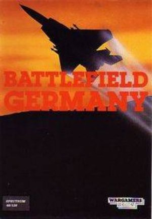 Battlefield Germany - ZX Spectrum cover art