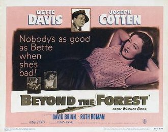 Beyond the Forest - Theatrical release poster