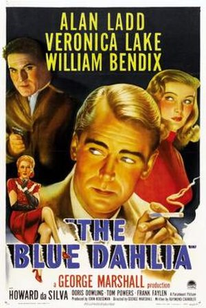 The Blue Dahlia - Theatrical release poster