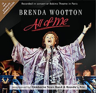 Brenda Wootton - Image: Brenda Wootton All of Me album cover