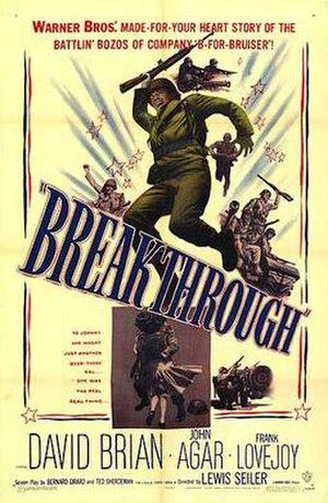 Breakthrough (1950 film) - Image: Brthpos