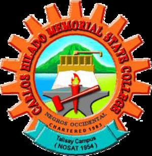 Carlos Hilado Memorial State College - Image: CHMSC logo