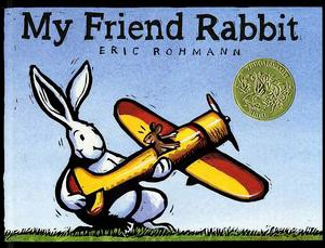 My Friend Rabbit - The front cover of the book My Friend Rabbit