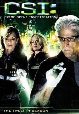 CSI: Crime Scene Investigation (season 12) - Season 12 U.S. DVD cover