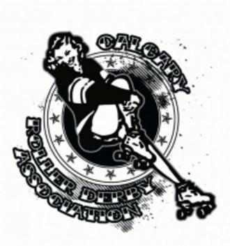 Calgary Roller Derby Association - Image: Calgary Roller Derby Association logo