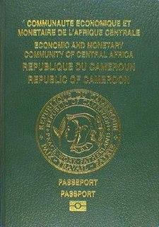 Cameroonian passport passport