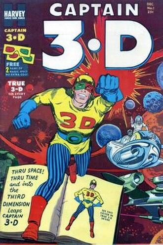 Captain 3-D - Image: Captain 3D Cover