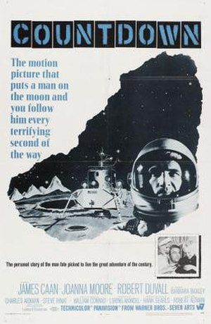 Countdown (1968 film) - Image: Countdown Film Poster