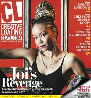 Creative Loafing (Atlanta) - Image: Creative Loafing (Atlanta) front page
