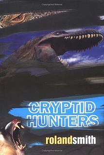 <i>Cryptid Hunters</i> novel by Roland Smith