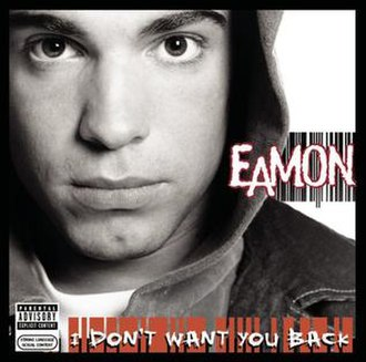 I Don't Want You Back - Image: Eamon i dont want you back album cover