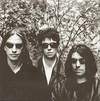 Electrafixion - L-R: Tony McGuigan, Ian McCulloch, and Will Sergeant