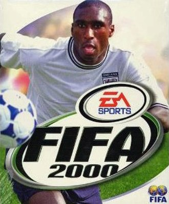 FIFA 2000 - UK cover featuring Sol Campbell