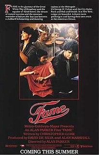 <i>Fame</i> (1980 film) 1980 film by Alan Parker