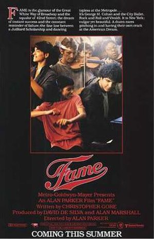 Fame (1980 film) - Theatrical release poster