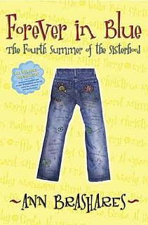 <i>Forever in Blue: The Fourth Summer of the Sisterhood</i>