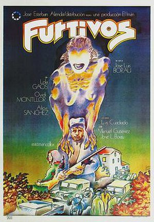 Furtivos - Theatrical release poster