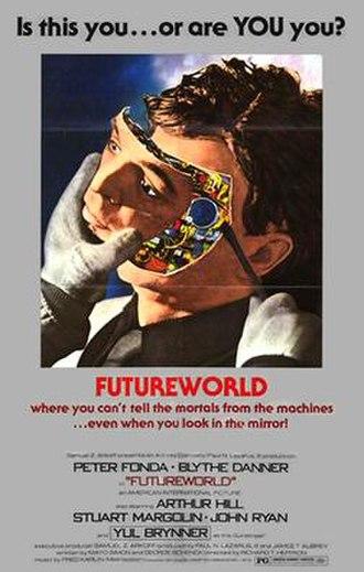 Futureworld - Promotional US poster