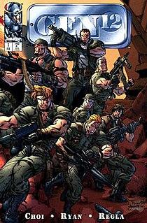 Gen12 comic book series by Brandon Choi