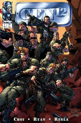 Gen12 - Cover of the first issue