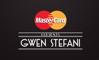 MasterCard Priceless Surprises Presents Gwen Stefani - Image: GS Show