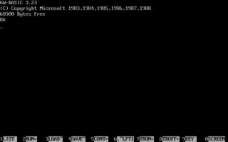 GW-BASIC dialect of the BASIC programming language