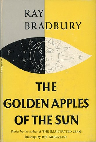 The Golden Apples of the Sun - Dust jacket of the first edition