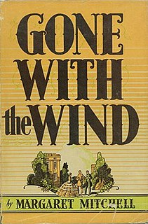 <i>Gone with the Wind</i> (novel) 1936 novel by Margaret Mitchell