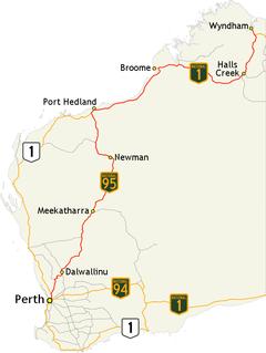 Great Northern Highway highway in Western Australia