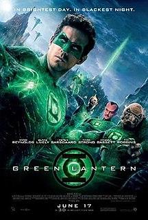 <i>Green Lantern</i> (film) 2011 film by Martin Campbell